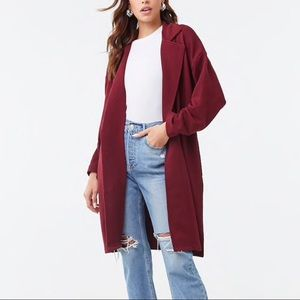 Forever 21 Terry Trench Coat